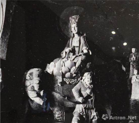 北山转轮经藏窟之普贤菩萨中国营造学社1940年年年
