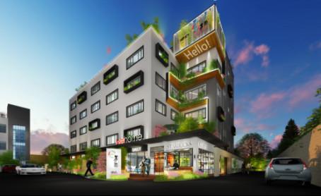北上海国际文化创意园区,宝山新文教商业消费中心 美丽华德必易园