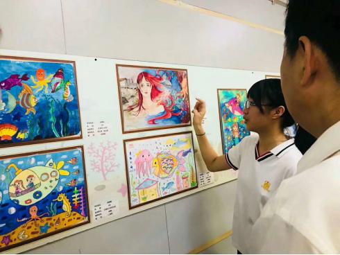 """—真彩的世界保卫海洋第八届""""真彩杯""""全国少年儿童创意绘画大赛图片"""