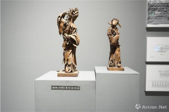 四川美术学院副院长,雕塑系主任焦兴涛作品