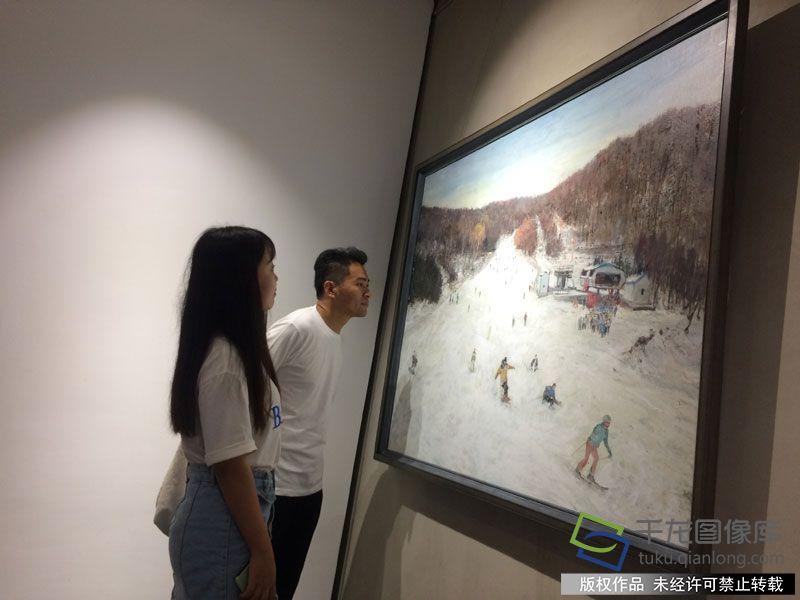 京津冀三地青年创作70余幅画作诠释冬奥文化