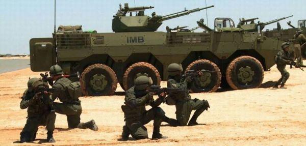 资料图片:委内瑞拉陆军使用的中国产VN-1轮式战车。(图片来源于网络)