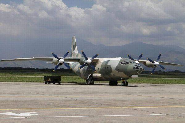 资料图片:委内瑞拉空军装备的运-8运输机。(图片来源于网络)
