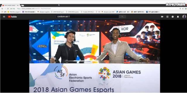 亚运会LOL项目重头戏中韩大战比赛支离破碎中国队不敌韩国