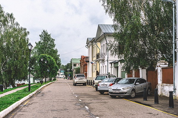 雨后的普廖斯 走进列维坦的画中风景
