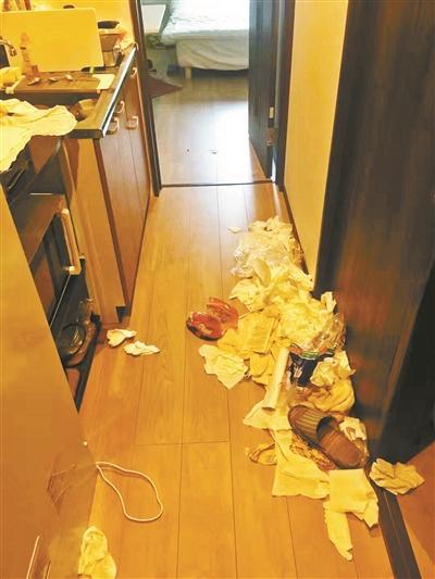 3名女学生在日本住民宿留下大量垃圾,老板投诉索赔