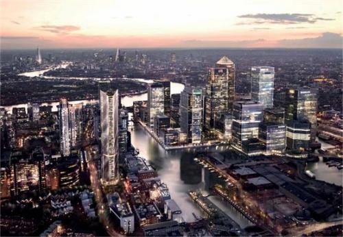 金丝雀码头成伦敦大动脉,看到这里你还不动心吗?