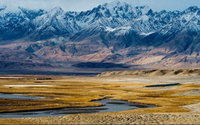 新疆和田最美风景图片