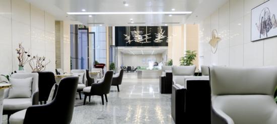 售楼处都这么美?水秀天地旁的稻谷国际中心正式开放