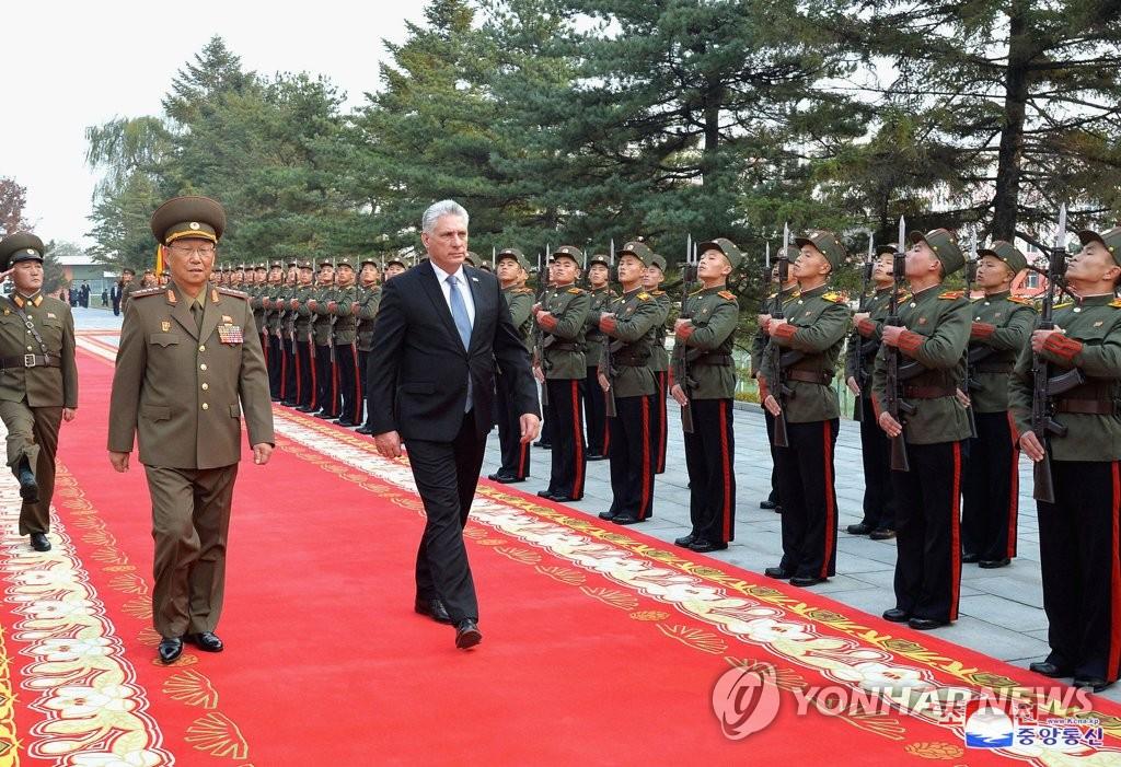 古巴领导人参观朝鲜这所神秘军校 看学员格斗训练