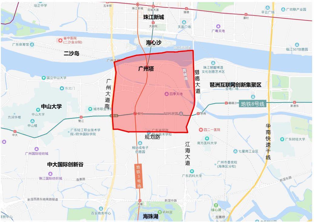 广州地标大变化:大公园+三大馆,将成打卡新去处!