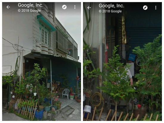台湾女子在谷歌地图上看到已去世的母亲坐在自家院子里。(图源:台媒)
