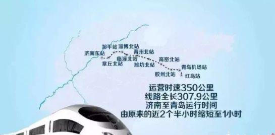 济青高铁联调联试完成,今起进行运行试验!