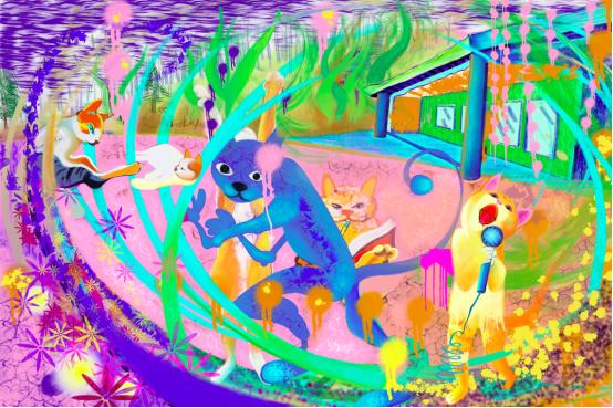 朱敬一无中生有iPad绘画展教案s版飞吧语文海鸥v教案图片