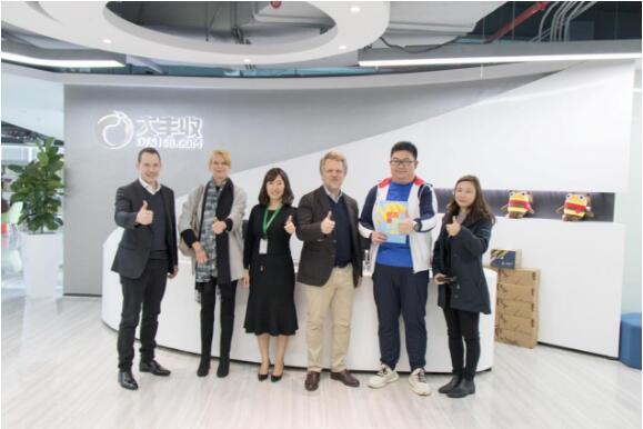 全球水果品牌营销专家Asiafruit优万果到访丰诚上品