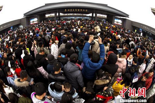 秦始皇帝陵博物院2019年春节长假接待观众479387人