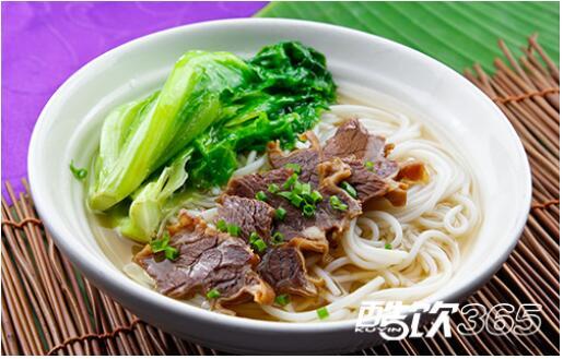酷饮365携手鲜牛肉汤粉给您健康与美味