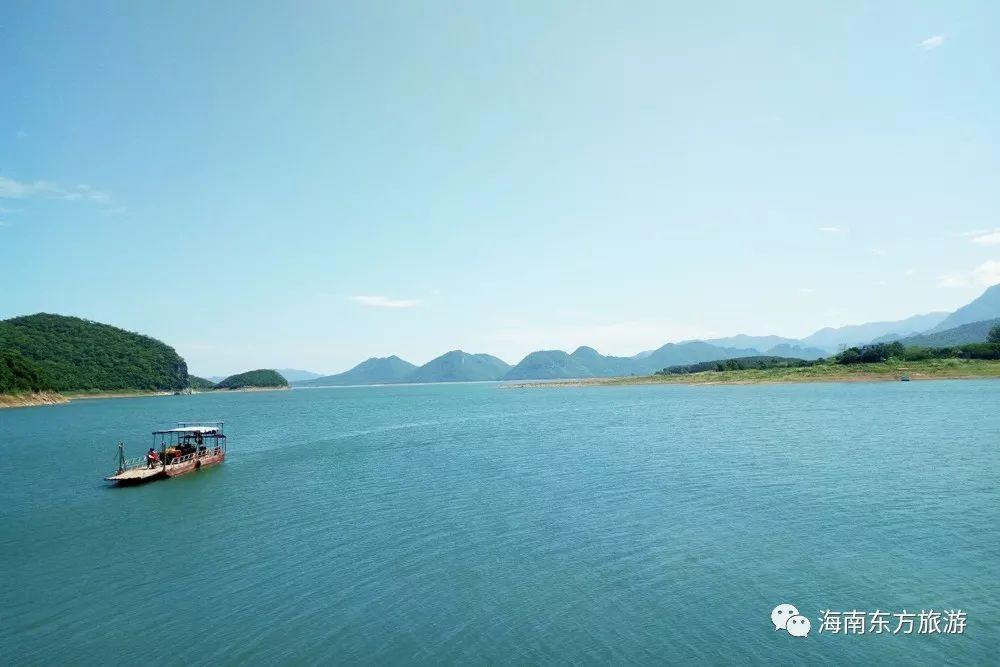 新闻资讯  大广坝自然风景区位于东河镇境内,昌化江中游,大坝周边群山