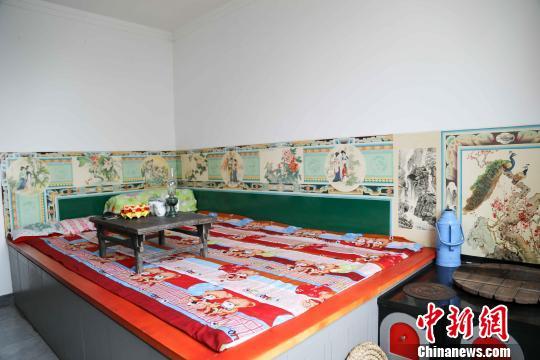 民间艺术瑰宝传统炕围画传承人:让墙上艺术传承发扬重归大众