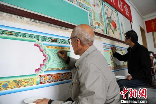 原平市曾有一支近千人的匠艺人队伍活跃于民间。 王斌田摄