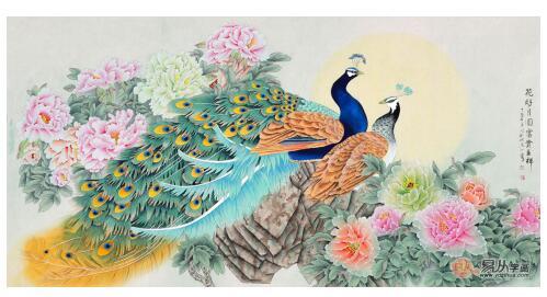 中国十大牡丹画家 易从网画家王一容名列前茅的真实原因