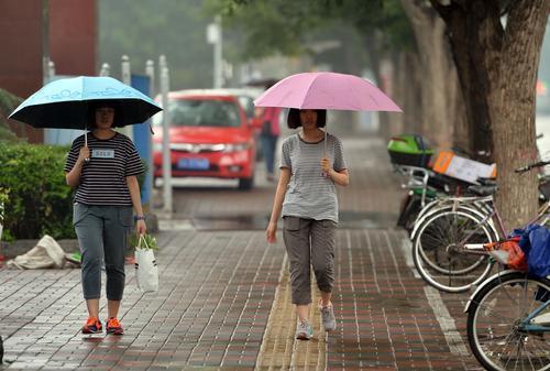 未来三天河北多雷雨 本周末冀中