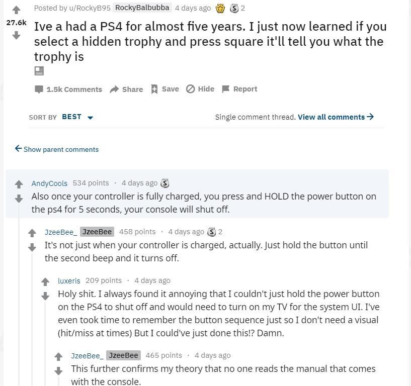 PS4玩了5年 官方告诉些你可能还不知道的小知识