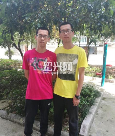 """浙江上虞""""最强双胞胎"""":哥哥日化品牌代理北大 弟弟清华"""