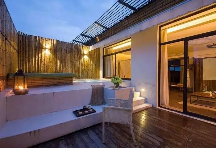SPA泳池别墅-生在稻田里的酒店,却有着堪比海岛的风景