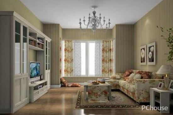 8个实用的英式田园风格客厅装修效果图 生活细节小心机