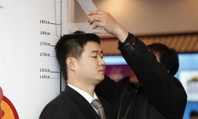 中国男性平均身高排世界第93名百年增长11厘米