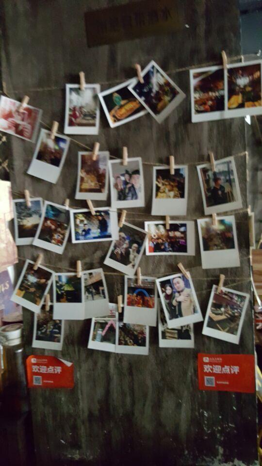 店内照片墙