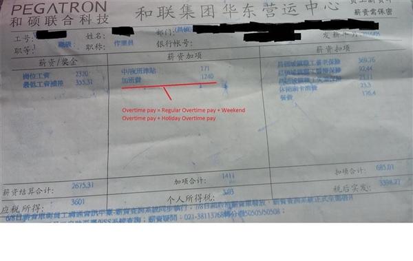 苹果中国血汗工厂:一个月加班109小时没假期