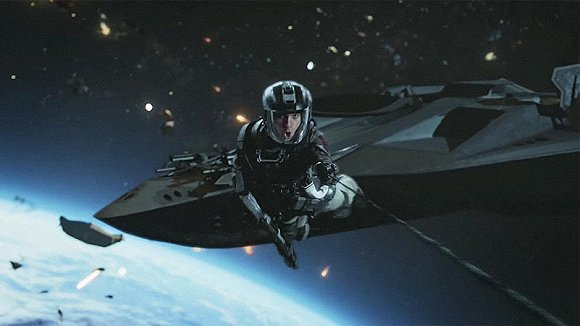 科幻大片战争背景素材