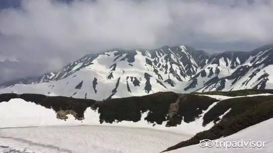 龟山风景区雪景