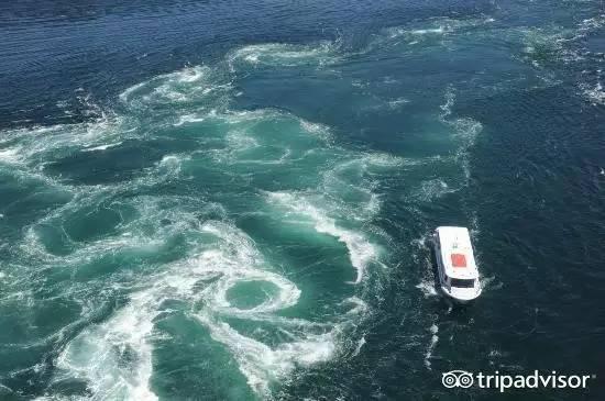 青岛中山公园大漩涡