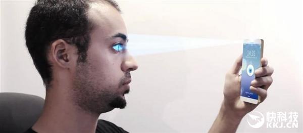 苹果激进!iPhone 8新功能首曝:酷炫的虹膜识别