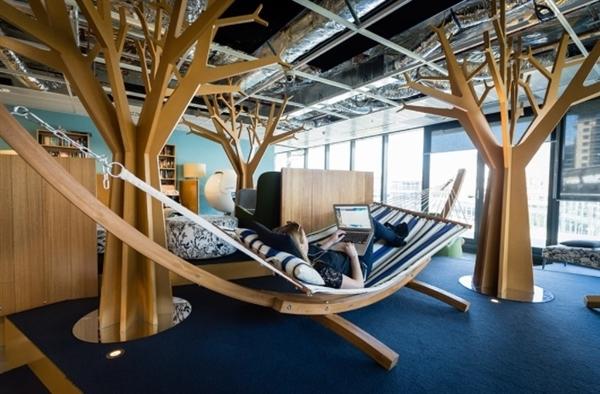 谷歌全球各地办公室长这样:上班像逛公园