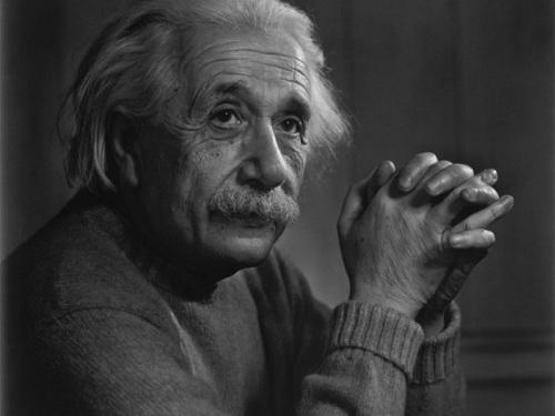 资料图:爱因斯坦。