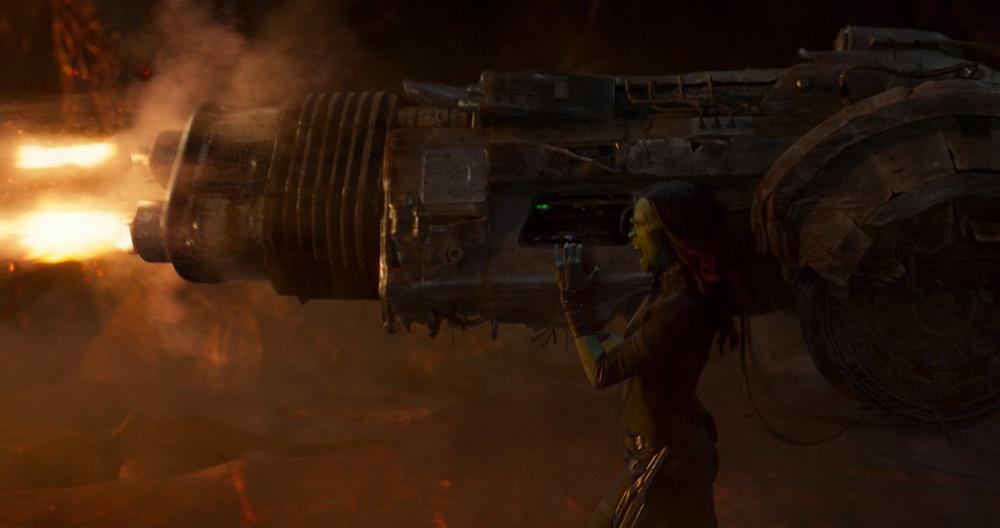 《银河护卫队2》小树照曝光1表情意表情包呆塔利亚黑人每张都是新剧图片