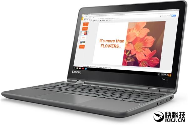 联想发布二合一Flex 11 Chromebook:联发科四核