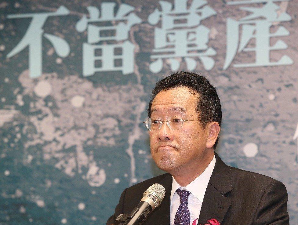 """台当局""""党产会主委""""顾立雄。(图片来源:台湾《联合报》)"""