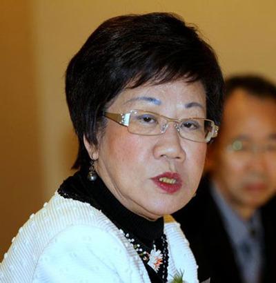 吕秀莲(图片来源:台湾《中时电子报》)