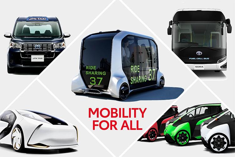 """豐田傾力構建""""未來的汽車""""  向出行服務提供商轉變"""