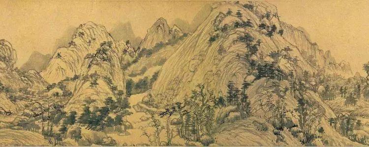 富春山居图部分(图片来源于网络)
