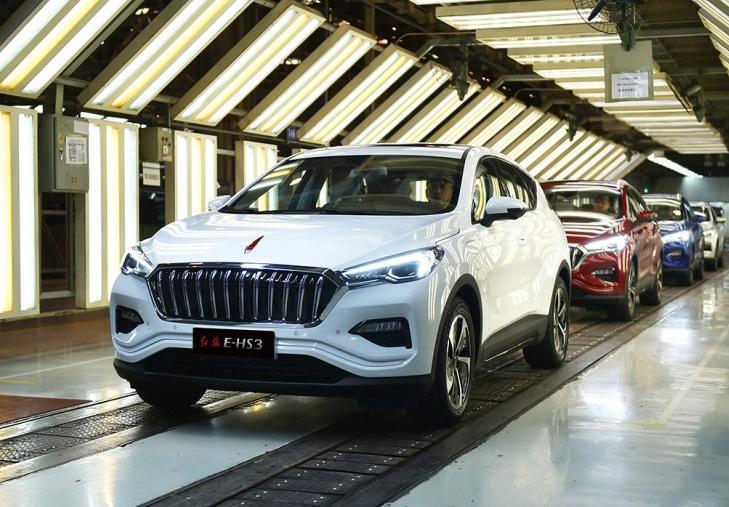 红旗E-HS3正式下线 红旗纯电动SUV首款产品
