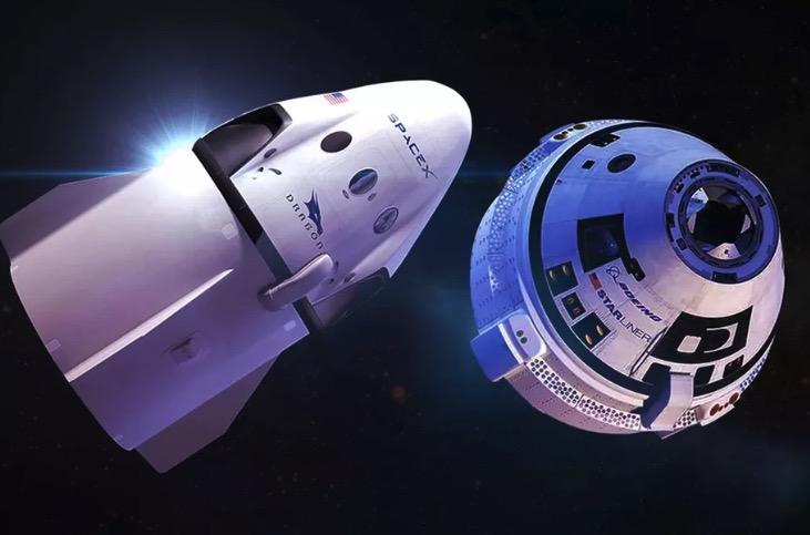 搭乘SpaceX全新载人飞船 NASA宇航员要...