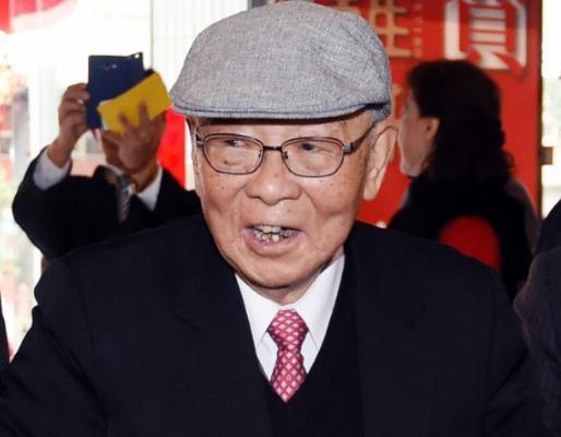 台100岁退役上将:我们炎黄子孙中国人,支持统一