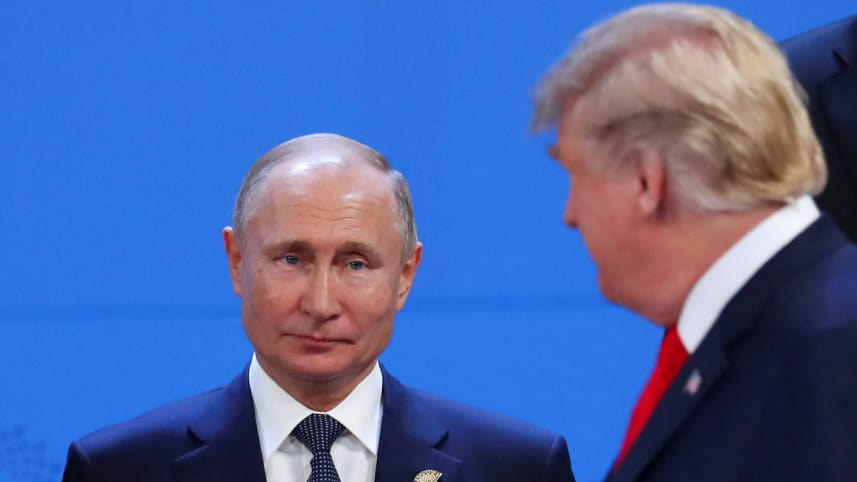 俄美没谈妥!美国2月2日起要退出《中导条约》