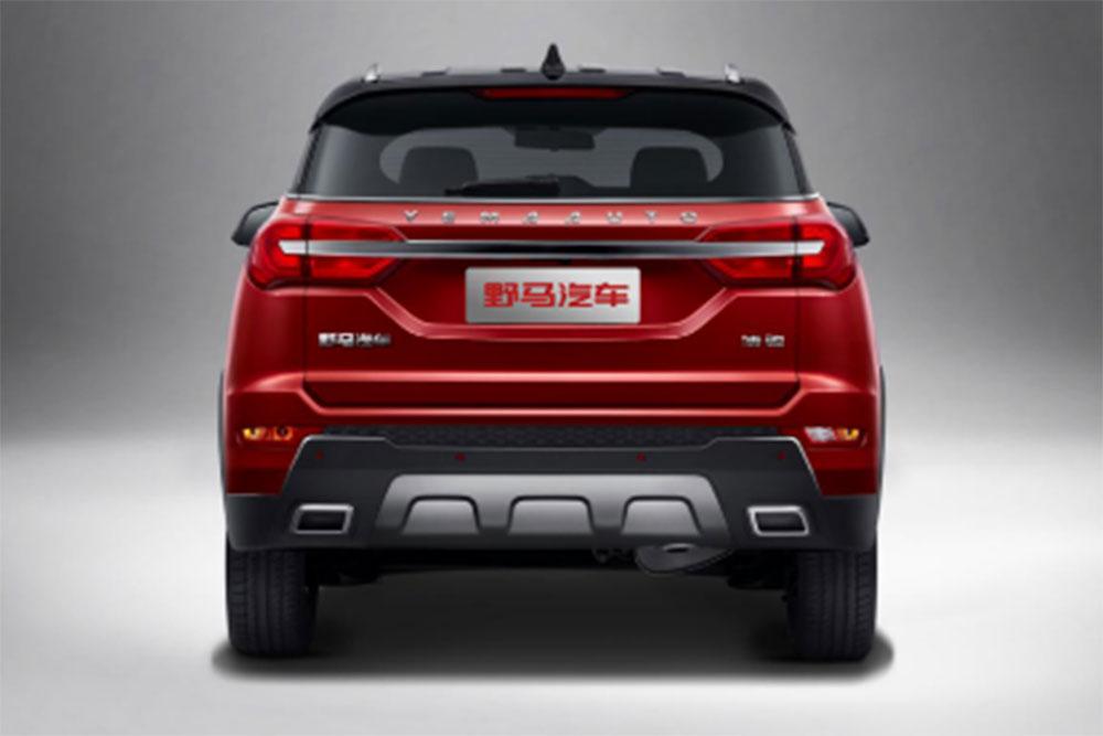 野马全新SUV命名为博骏 将于本月底下线
